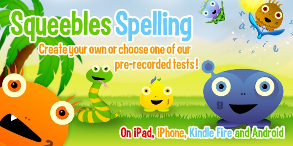 Squeebles Spelling - Featured App