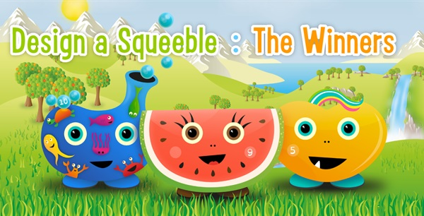 Design a Squeeble - The Winners!