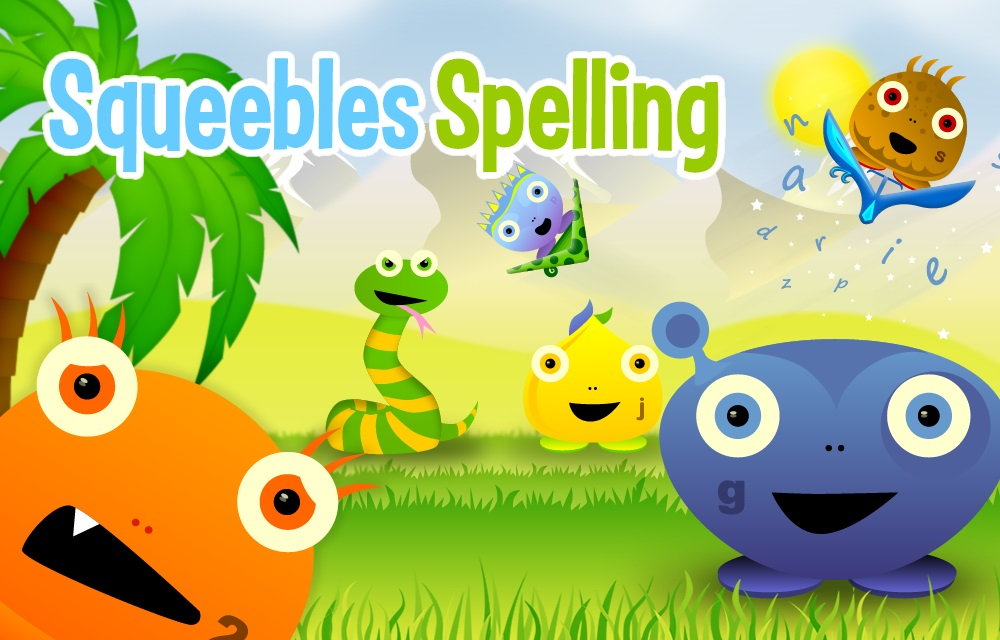 Spelling App - Squeebles Spelling Test